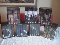 X-Files - series 1, 2, 3, 4, 7, 8, 9 VHS box sets