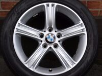 "MINT 17"" BMW ALLOY WHEELS F30 E90 E46"