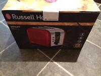 New Russel Hobs Toaster (Red)