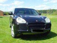 Porsche Cayenne 4.5 Turbo Black SUV 5DR Petrol Triptronic S FSH 4x4 450BHP-MINT
