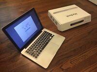 Macbook Aluminum Unibody laptop with 240gb SSD pro hard drive in original box