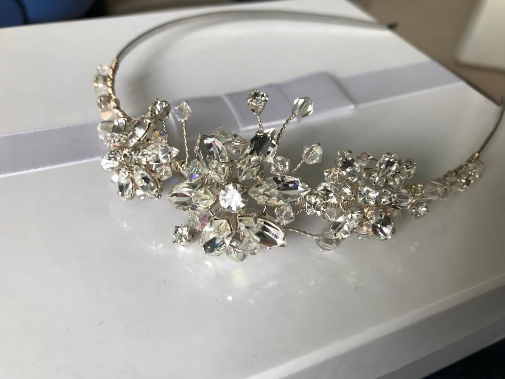bridal hairband / hair accessory | in heath, cardiff | gumtree