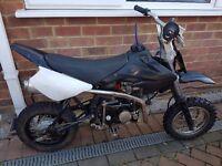 125cc x sport pit bike/ pitbike/ dirt bike/ scrambler/ stomp/ demon x/ mini moto