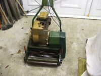 Webb Petrol Lawn Mower No Grass Box For Spares Or Repairs