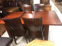 Table £299 chairs £70 each