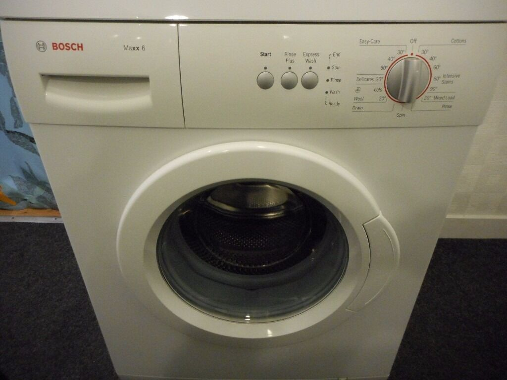 bosch maxx 6 6kg 1200 washing machine in east end. Black Bedroom Furniture Sets. Home Design Ideas