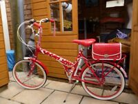 """raleigh """"starstruck 3 speed 20"""".used once."""
