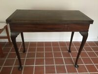 Nice old table - card table