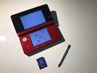 Metallic Red Nintendo 3DS