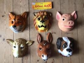 Selection of Animal Masks (Brand New Condition)