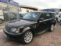 57 RANGE ROVER SPORT 2.7 TDV6 S JUST HAD NEW ENGINE COSTING £3200 IN TOTAL SUPERB DRIVE COND NEW MOT