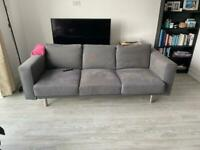 Grey Sofa - 3 Seater