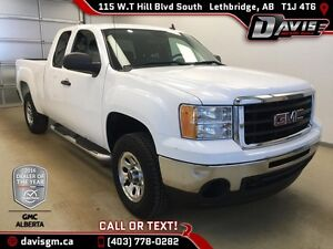 Used 2011 GMC Sierra 1500 SLE Ext Cab-40/20/40 Split Bench Seat