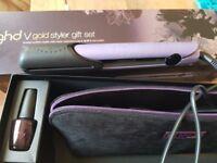 Ghd v gold styler gift set BRAND NEW