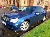 ★ 1 LADY OWNER & LOW MILEAGE! ★ YEARS MOT ★ 2007 MERCEDES C180 KOMP. CLASSIC SE AUTO, 4dr ★ GOOD S H