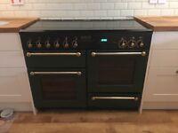 Leisure Rangemaster 110 gas range oven