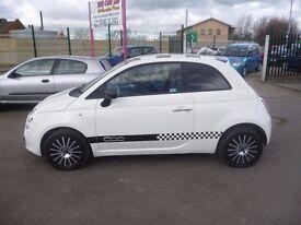 Fiat 500 POP,stunning 3 door hatchback,stop/start,2 previous owners,3 keys,runs and drives well