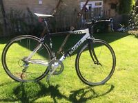 Specialized Road Bike for Sale, Recently serviced, Brilliant bike, upgraded wheels and brakes