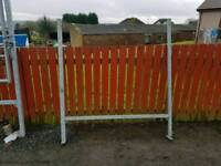 Choice of four galvanised bridal gate frame livestock farm tractor