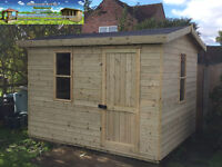 10x6 Shed Worksoop Tanalised T&G Heavy Duty