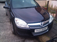 VAUXHALL ASTRA H MK5 1.4 16V 2007 IN BLACK MOT TILL NXT APRIL GD CONDITION IN AND OUTSIDE £1350 ONO