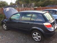Vauxhall Astra 2006 new shape Breaking Spare parts body panels engine parts interior repairs