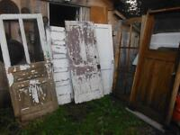OLD And ANTIQUE DOORS $20.00 TO $40.00 EACH