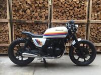 1990 Kawasaki GT 550 Cafe Racer Brat Bike