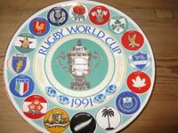 word cup plate by harvey thomas