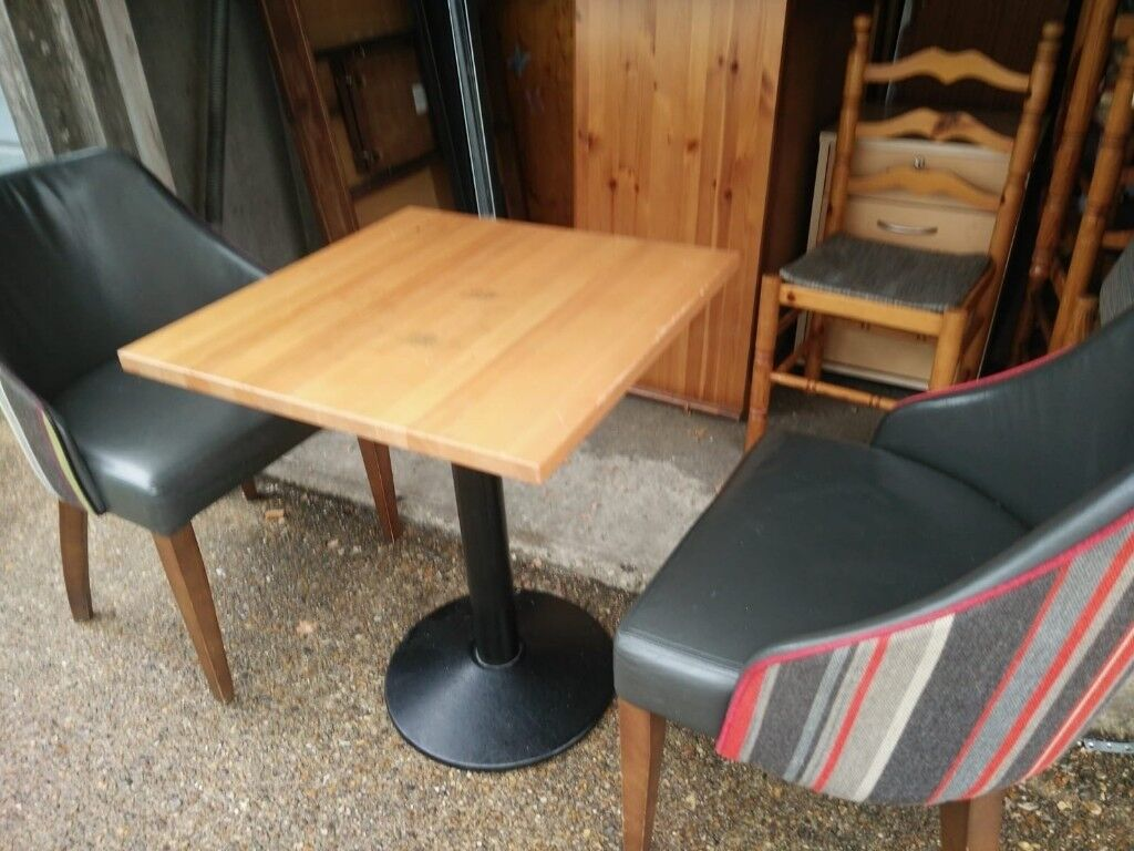 Cafecoffee Shop Style Table And 2 Arm Chairs In Hillingdon London Gumtree