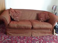 **WAS £150, WAS £80... NOW £40* Big 3-4 Seater Red Sofa