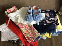 Baby girl 6-9 months summer clothes bundle