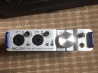 Zoom TAC-2R Thunderbolt Audio Interface 24-bit/192kHz TAC2R