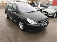 2005 PEUGEOT 307 2.0 HDI 140 6 SPEED LOW MILES LONG MOT