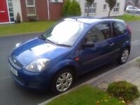 2007 FORD FIESTA 1.25, EXCELLENT CONDITION WITH ONLY 55K, FULL MOT & FULL SERVICE HISTORY!!
