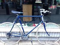 Vintage Raleigh road racing touring city bike