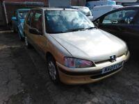 2003 Peugeot 106 1.1 low miles MOT till December