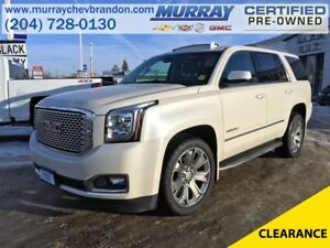 2015 GMC Yukon Denali 4WD 7 Passenger Option *Nav* *Blind Side*