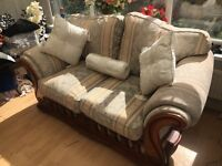 Laura ashley inspired duckegg blue/ivory brocade sofa - gorgeous!!!