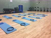 ProPilates Edinburgh, physiotherapy lead Pilates class