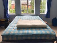 King size mattress & topper