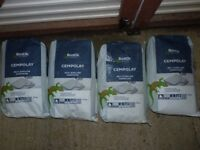 BOSTIK CEMPOLAY. SELF LEVELLING COMPOUND. 7 FULL BAGS.ONLY £60