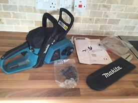 Brand New in Box Makita Chainsaw