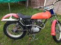 Honda tl125 trials bike
