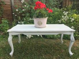 French Coffee Table Shabby Chic