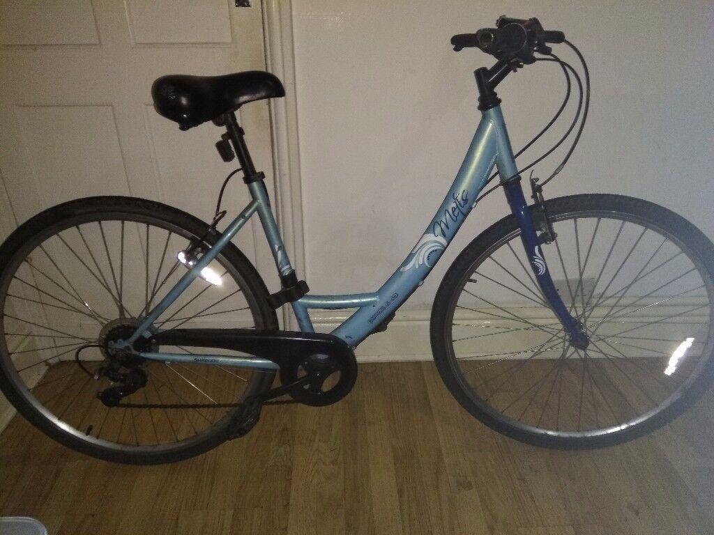 Bike with helmet and lock, bargain!