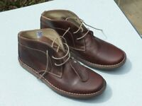 Mens Ikon Nomad Gravado leather Desert boots. New. Size 10