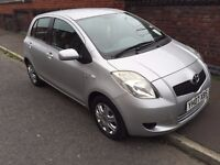 TOYOTA YARIS DIESEL **AUTOMATIC** ONLY 26000 MILES - 30 POUND ANNUAL TAX-5 DOOR SILVER