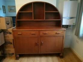 Solid oak sideboard dresser 1936