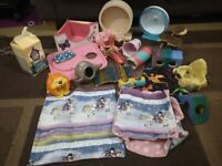 Huge Bundle Of Small Animal Accessories